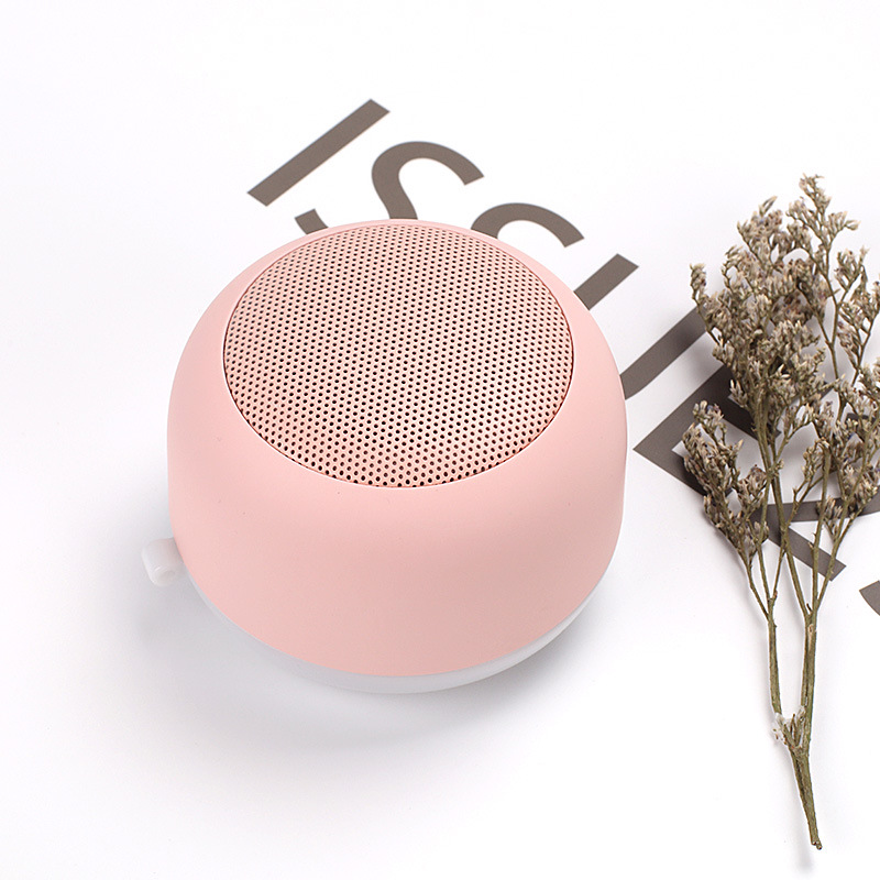 Portable Bluetooth 5 0 Speaker Stereo Portable Wireless Speakers Mini LED Night Light Speaker Hands free Calls Bluetooth 5 0