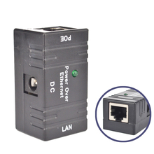 POE Мини-Сплиттер Инжектор адаптер DC мощность над Ethernet CCTV аксессуары RJ45 пассивный для локальной сети наблюдения IP камера