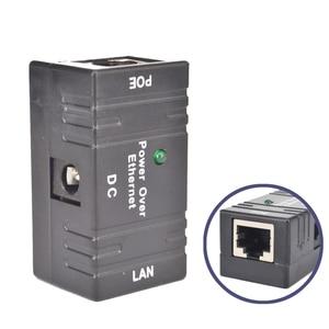 Image 1 - Mini POE الفاصل حاقن محول تيار مستمر الطاقة عبر إيثرنت ملحقات CCTV RJ45 السلبي للكاميرا شبكة LAN مراقبة IP