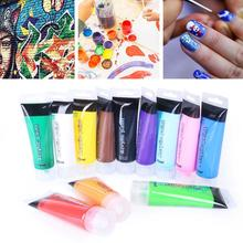 75 ml Acrylic paint Washable Colorful  Drawing Toy Kids Nail Paint Finger Painting Diy Toys Finger For Kids Craft Painting