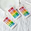 6 шт. разные цвета разные формы цветные заколки для волос заколки для детей аксессуары для волос для девочек женские JXN009