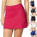 Женская юбка-карандаш из двух частей Hakama, большие размеры, легкая женская спортивная мини-юбка для бега, тенниса, гольфа