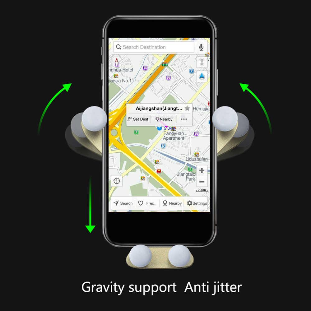 ODOMY العالمي لوحة سيارة حامل هاتف الجاذبية الباندا الكرتون دعم قوس ABS الداخلية اكسسوارات جبل