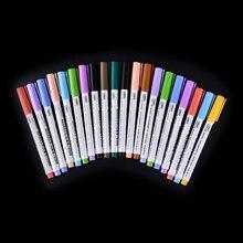 8 шт в партии 12 шт/компл 12/8 цветов Белый Ручка маркер для