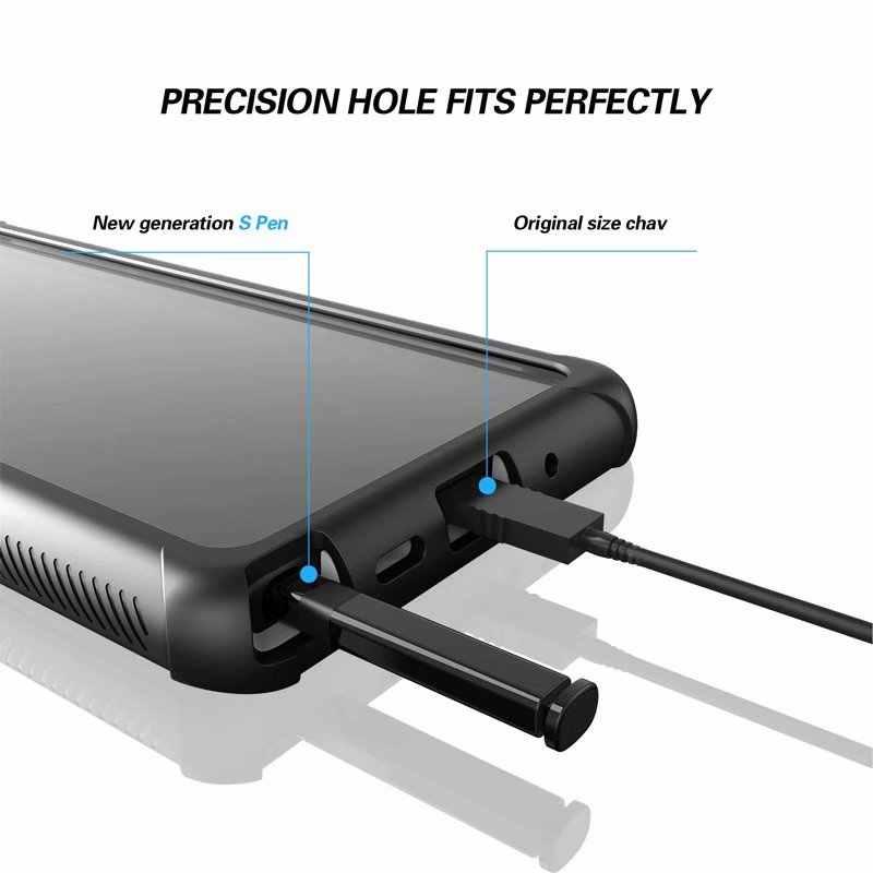 360 противоударный пылезащитный Прозрачный чехол для samsung Galaxy Note 10 + S10 Plus прозрачный защитный чехол для samsung S10 S10 E Note 10