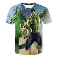 Camiseta verde de verano 3D para niños Nueva 2021, ropa de rua de moda y casuais, tops frescos y estampados para adolescentes