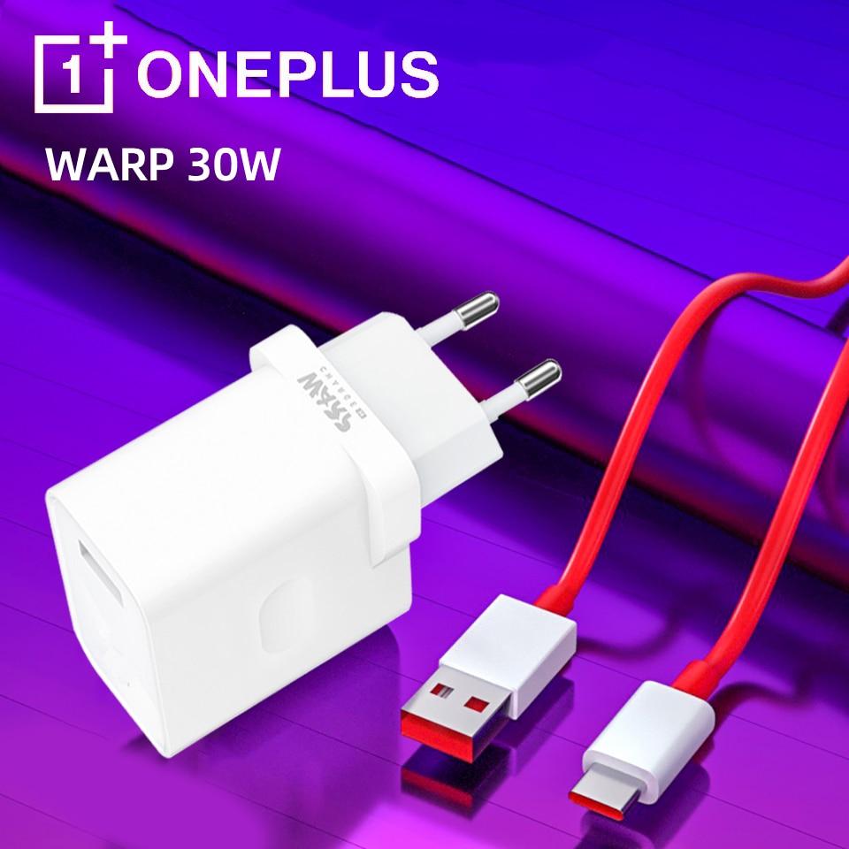 Original para oneplus nord n10 warp carga 30 adaptador de energia da ue 30w cabo carregador de urdidura traço carga um mais 8 pro 7t 7pro 6t 5