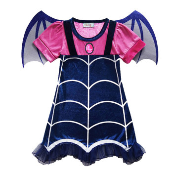 Horror Vampirina Costumes Cosplay For Children Halloween Carnival Performance Clothes Scary Vampire Girl Dress C35529CH - discount item  31% OFF Costumes & Accessories