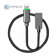 US $7.88 15% OFF|Cafele USB Cable Fast Charging QC3.0 Nylon Wire For IPhone X Xs Max 8 7 6S 5 Plus Ipad Mini Mobie Phone Charger USB Data Cord-in Mobile Phone Cables from Cellphones & Telecommunications on AliExpress - 11.11_Double 11_Singles' Day