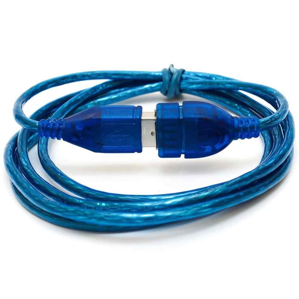 1.5M przeciwzakłóceniowy przedłużacz USB 2.0 kabel USB 2.0 męski na USB 2.0 żeński przedłużacz danych przewód do synchronizacji danych niebieski