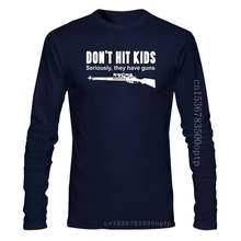 New 2020 Funny T Shirt Men Hot DON'T HIT KIDS T-shirt / Funny / Guns / Sniper / COD / Riffle / Xmas / All Sizes Casual T Shirts