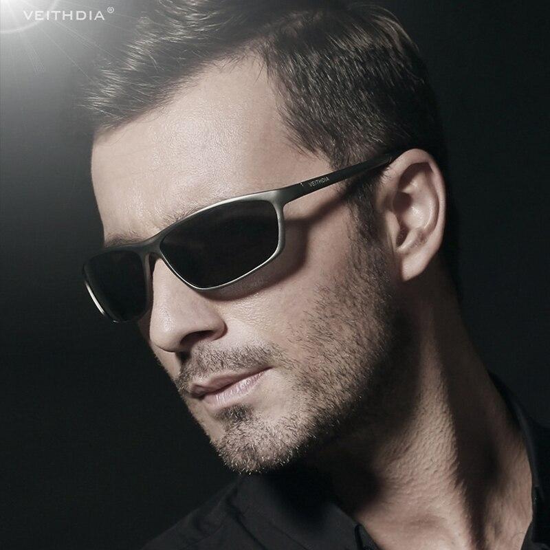 VEITHDIA 2020 Brand Men s Sun glasses Polarized Lens Male Sunglasses Designer Aluminum Magnesium Glasses Eyewear