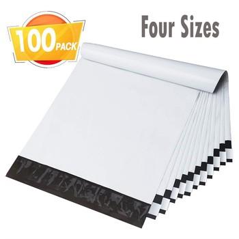 Koperty torby przewozowe z samoprzylepną kopertą pocztową koperta pocztowa wodoodporne i odporne na rozdarcie torby pocztowe biały torby przewozowe biały tanie i dobre opinie CN (pochodzenie) 12x16+4 15x19+4 14x22+4 17x25+4 cm Mailer Self Seal Pink Okna koperty Prezent koperty Self Seal Mailers Padded