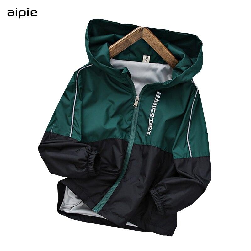 Новинка 2020, весенние детские куртки, новые модные куртки с капюшоном и длинными рукавами для мальчиков 4 14 лет, Детские пальто|Куртки и пальто| | АлиЭкспресс