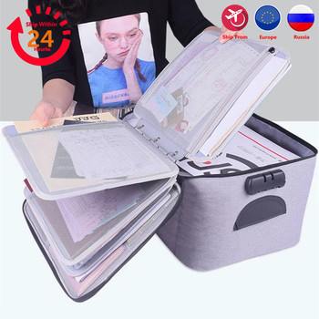 Bag for Document Organizer Briefcase Storage Men's Women's Business IPAD Electronic Pouch Case Supplies Accessories 1