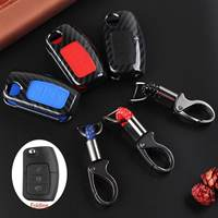 Carbon Fiber Remote Key Fob Case Cover Key Case For Ford Fiesta Focus Mondeo Falcon C Max Falcon|Key Case for Car| |  -