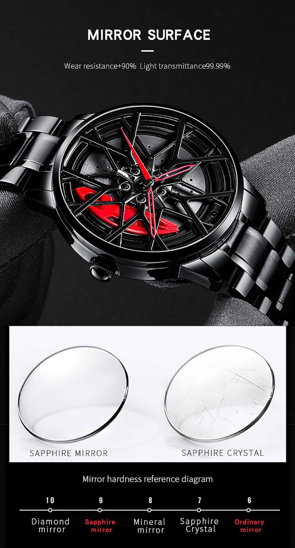 Hcb76ba48bcae45ebaee6f040847cdc685 NIBOSI 2020 Car Rim Hub Wheel Watch Custom Design