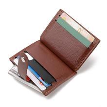 Cardholder Case Purse Pouch-Bag Wallet Men Money Credit Small Women Luxury New Solid