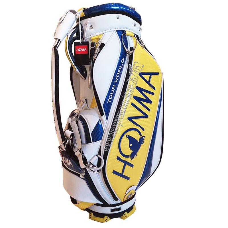 New Golf Bag HONMA Golf Clubs Bag In Choice 9.inch Golf Standard Bag Standard Ball Package Golf Cart Bag Cooyute Free Shipping