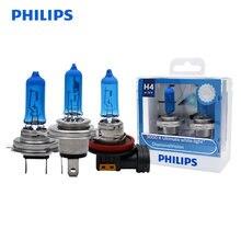 Philips Diamant Vision H1 H4 H7 H8 H11 HB3 HB4 9003 9005 9006 12V 5000K Auto Halogen Kopf licht Nebel Lampen Xenon Weiß Lampen, paar