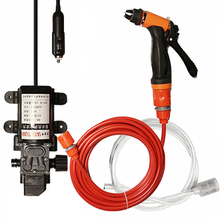 12V taşınabilir araba yıkama tabancası pompası yüksek basınçlı sprey çamaşır makinesi araba temizleme kiti araba yıkama oto bakım elektrikli cihaz