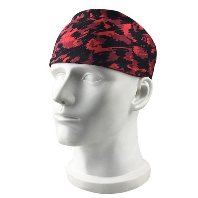 Outdoor Fitness Running Headband Bandage Quick-drying Sweat Belt Sports Tennis Headband Sweat-proof Breathable Headband