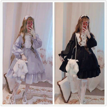 Lolita Dress for Women Kawaii Girls Palace Bow-knot Stiching Japanese Style Vestidos Noble Sweet Gothic Party Robe Renaissance Women's Clothing & Accessories cb5feb1b7314637725a2e7: Color10Dress|Color11Dress|Color1Dress|Color2Dress|Color3Dress|Color4Dress|Color5Dress|Color6Dress|Color7Dress|Color8Dress|Color9Dress