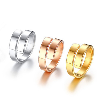 Silver Smooth Design Men or Women Ring Fashion Finger Ring  Jewelry Gift Nice NGXJZ