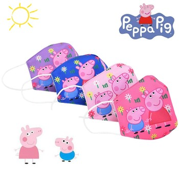 Peppa Pig Half Muffle Face Mask Anti Pollution Mask Dust Respirator Washable Reusable Boys Girl Masks Cottons Mouth Gift джемпер henry cottons