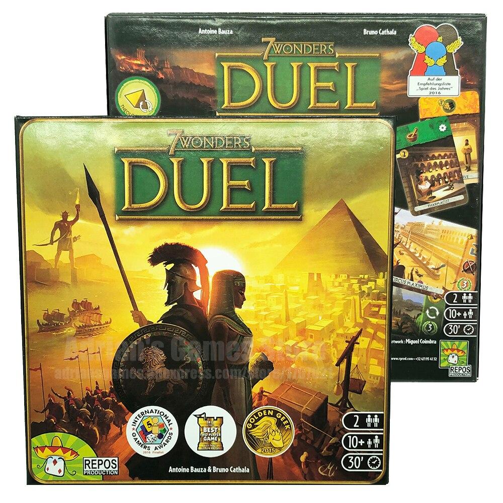 7 Merveilles Duel jeu de société 2 joueurs