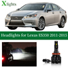 Xlights Led Headlight Bulb For Lexus ES350 2011 2012 2013 2014 2015 Low High Beam Canbus Car Headlamp Lamp Light Accessories 12V