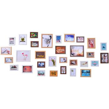 31 boxes simple modern living room photo wall decorated photo frame wall European-style creative wall combination photo wall