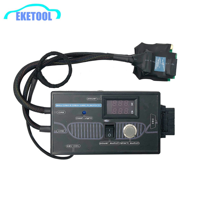 New Upgrade Test Platform For BMW CAS4 & CAS4+ Programming For BMW CAS4 CAS4+ Keys By OBD Avoid Car Data&Power Loss