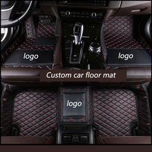 Kalaisike Custom רכב רצפת מחצלות לאאודי כל דגם A1 A3 A8 A7 Q3 Q5 Q7 A4 A5 A6 S3 s5 S6 S7 S8 R8 TT SQ5 SR4 7 רכב סטיילינג