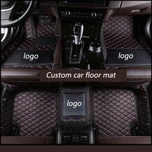 Kalaisike Personalizzato tappetini auto per Audi tutti i modelli A1 A3 A8 A7 Q3 Q5 Q7 A4 A5 A6 S3 s5 S6 S7 S8 R8 TT SQ5 SR4 7 car styling