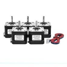 Stepper-Motor Line Nema 42BYGH 17HS4401S 4-Lead for CNC XYZ V5 V6 5pcs/Lot