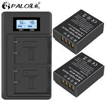 PALO 2Pcs NP-W126 NP W126 NPW126 Batteries&LCD Dual Charger for Fujifilm Fuji X-Pro1 XPro1 X-T1 XT1, HS30EXR HS33EXR X PRO1