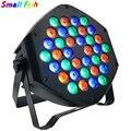 Светодиодный светильник RGB 36x3 Вт  светильник для дискотеки  оборудование  7 каналов  DMX 512  светодиодный светильник  s DJ  сценический светильни...