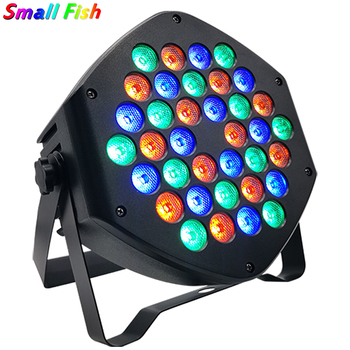 LED Par Light RGB 36x3W Disco Wash Light Equipment 7 Channels DMX 512 LED Uplights DJ Stage Lighting Effect Light Fast Shipping 12pcs illusion plastic par light rgbw 4in1 disco wash light equipment 8 channels dmx 512 led effect stage dj party lighting