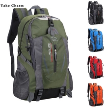 New Men Nylon Travel Backpack Large Capacity Camping Casual Backpack 15-inch Lap
