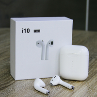 New Updated Original i10 TWS Double Mini 1:1 Version Wireless Bluetooth 5.0 Earphones Touch Control Headset For Apple Android