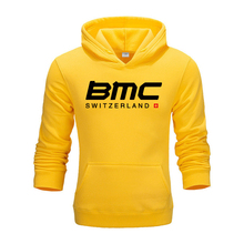 2020 BMC Switzerland Bike Cycling Hoodie Autumn And Winter Round Neck Hoodie &Sweatshirt Male Plus Size S-2XL
