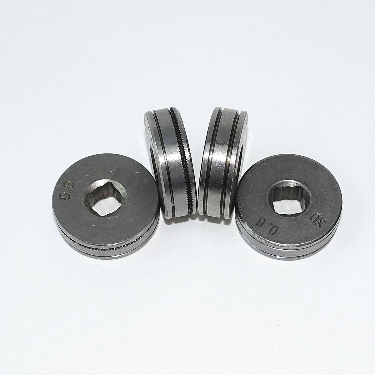 MIG Welding Machine Wire Feeding Roll V U K Knurl Groove 0.6mm 0.8mm 1.0mm 1.2mm Of Steel Aluminum Flux Cord Welding Wire SSJ-16