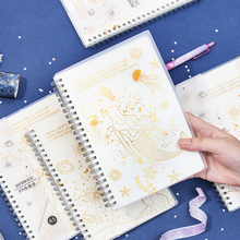 notebook bullet journa planner agendas caderno diary note book notepad notebooks and journals cahier spiral Hot stamping school