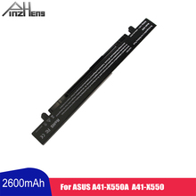 PINZHENG 2600mAh Laptop Battery For Asus HP A41-X550 X550A Y481C Y581C X450VC X550V K550J For ASUS A450 A550 R510 Series