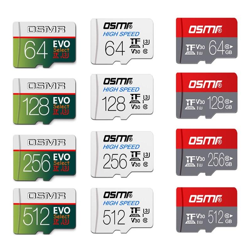 Wholesale Mini TF Card Flash Memory Card 128gb 64gb Micro Sdcard C10 16 GB Microsd 32 Gb 256GB 512GB For Smartphone/camera/drone