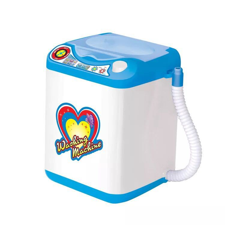 Mini Douyin Washing Machine Toy Electric Online Celebrity Style Play House Kitchen Set Children Small Model GIRL'S
