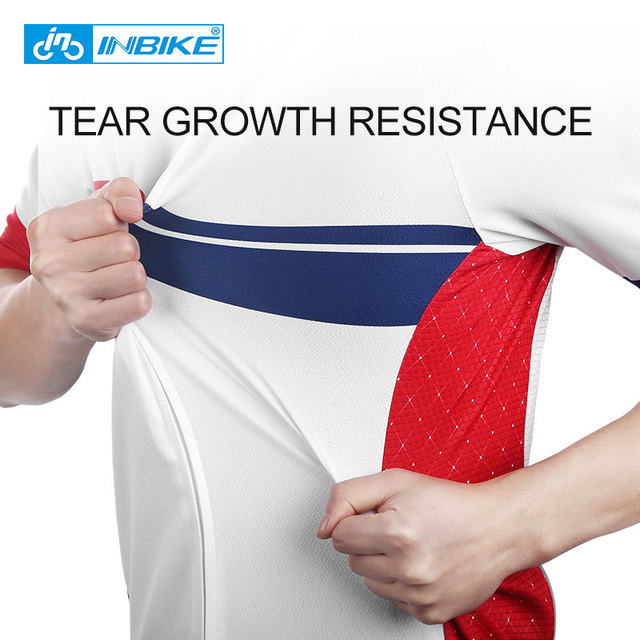 INBIKE Sport Bike Team Racing Cycling Jersey Tops Summer Bicycle Cycling Clothing Ropa Ciclismo Breathable MTB Bike Jersey Shirt 3