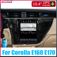 ZaiXi 10.4 Tesla Type Android For Toyota Corolla E160 E170 2013~2016 Car Android DVD Player Navigation GPS Multimedia system