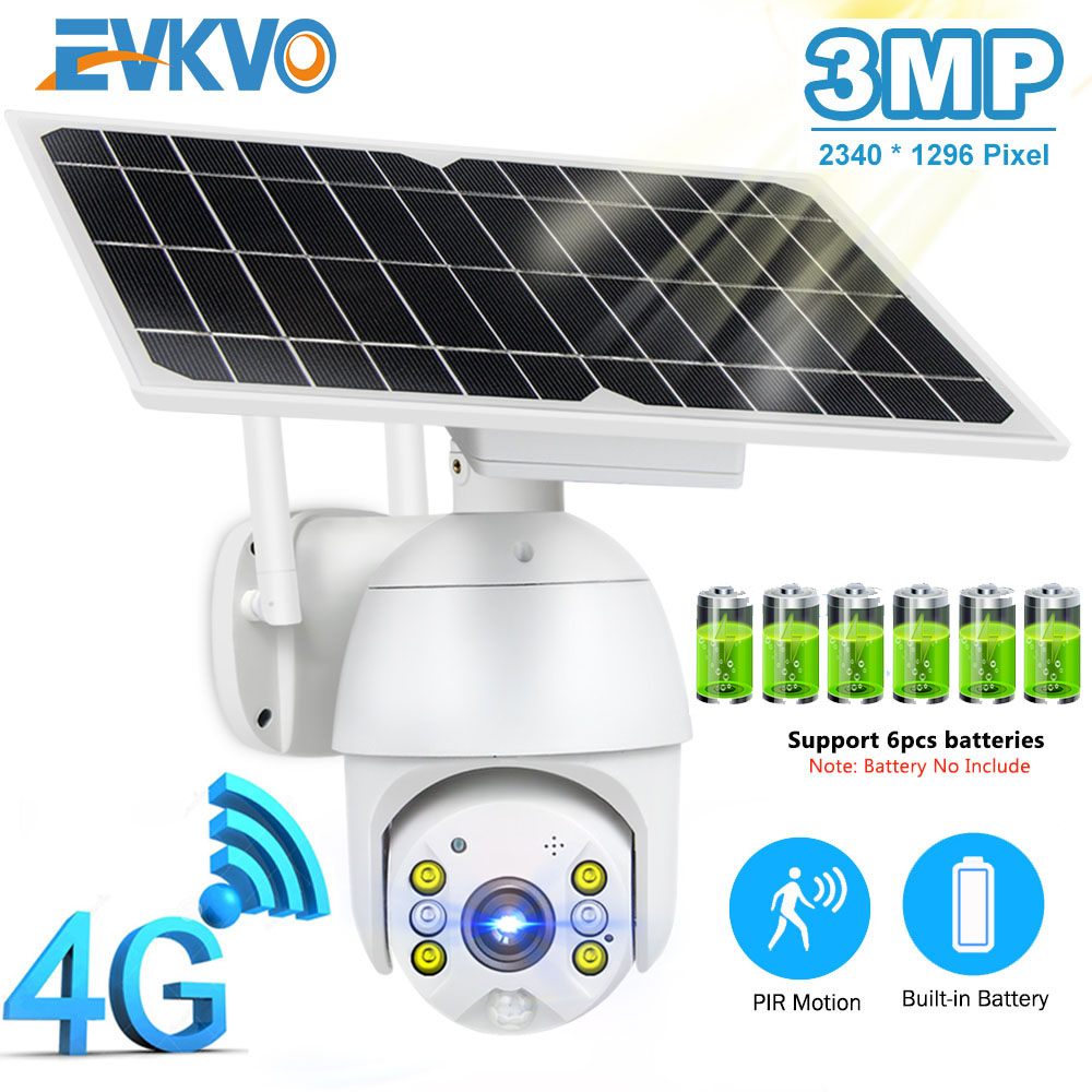 IP-камера ПНН с солнечной панелью, 3 Мп, 8 Вт, Wi-Fi